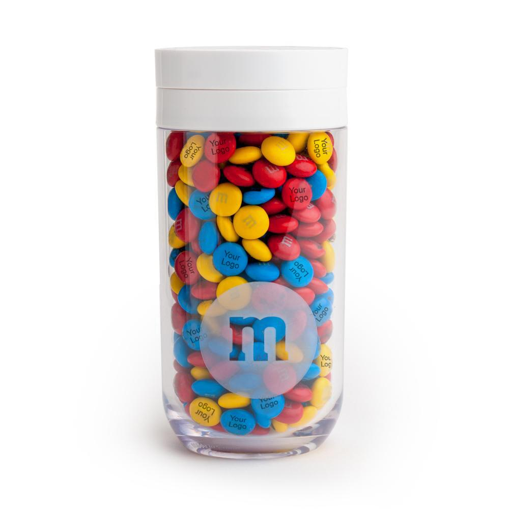 M&M'S Business White Lid Gift Jar