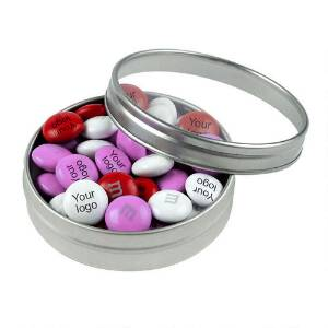 M&M'S Personalized Business Favor Tins