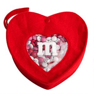 Heartfelt Box and Personalized M&M'S Candy