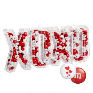XOXO Candy Box with Red & White M&M'S